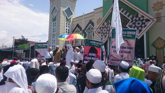 Aksi Bela Islam 64 di Tegal