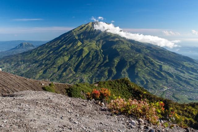 Melihat Kondisi Gunung Merbabu Sebelum dan Setelah Terbakar (982158)