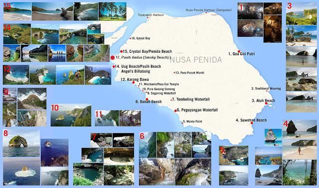 PAKET TOUR NUSA PENIDA  (210076)