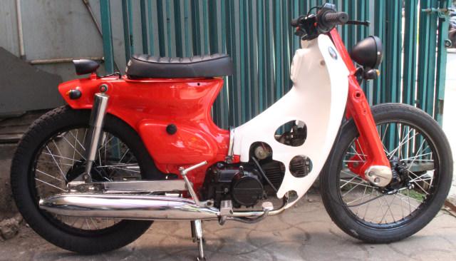 Transformasi Honda Legenda Jadi Street Cub Kekinian Dengan