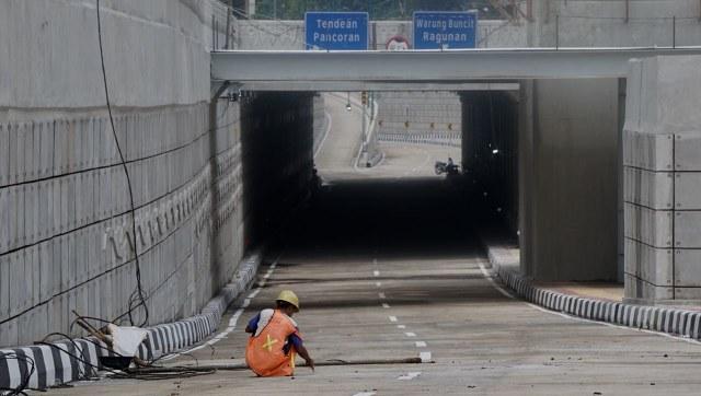 Underpass 'Obat Macet' di Mampang-Kuningan Sudah Siap Dilintasi (65324)