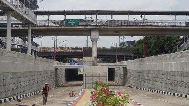 Underpass 'Obat Macet' di Mampang-Kuningan Sudah Siap Dilintasi (65323)