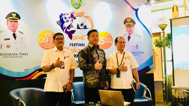 Jumpa pers Festival Maksaira 2018 Kabupaten Sula
