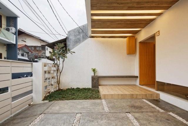 Desain Dapur Sempit Memanjang  7 desain taman minimalis di lahan sempit kumparan com