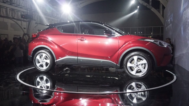 All New Toyota C-HR.