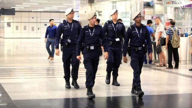 Ilustrasi Polisi di Singapura