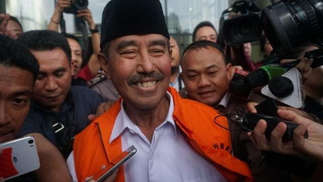 Bupati Bandung Barat, Abubakar ditahan KPK