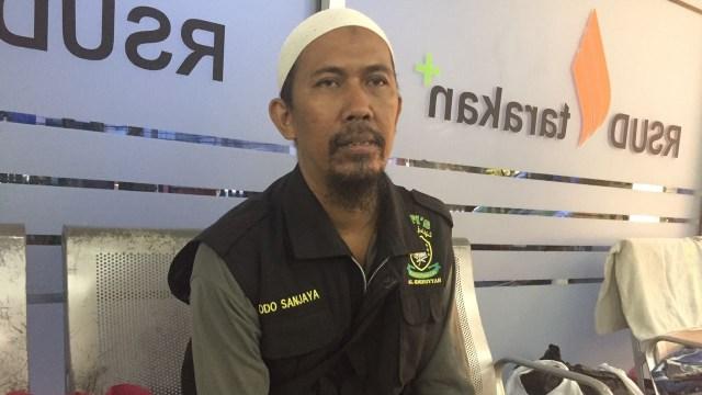 Dodo Sanjaya, teman driver ojol Irfan
