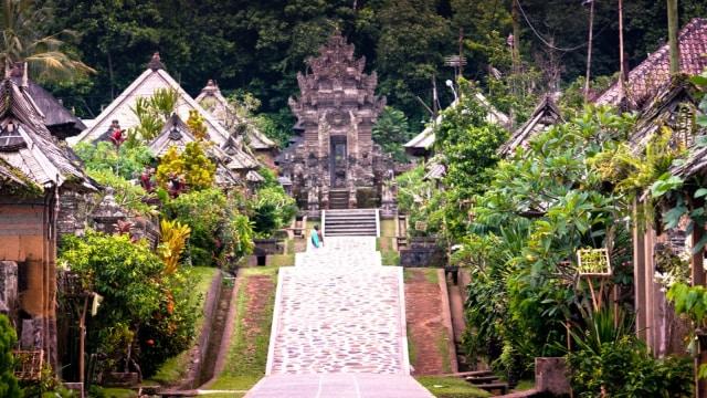 Menjamah Damai Dan Asri Di Desa Penglipuran Bali Kumparan Com