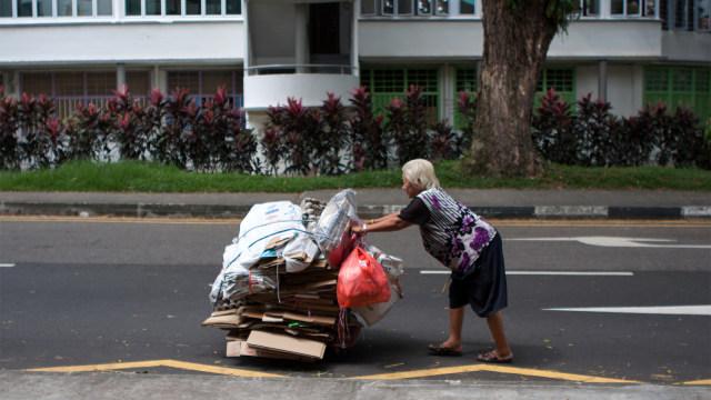 Fenomena Cardboard Grannies di Hong Kong