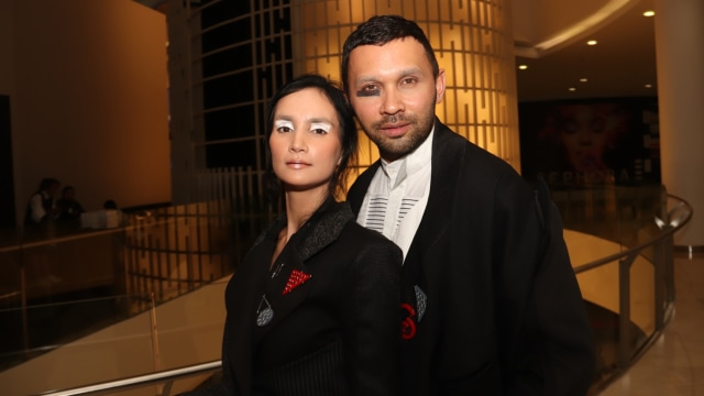 Teuku Zacky dan Ilmira Usmanova