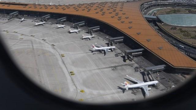 Ilustrasi maskapai Air China