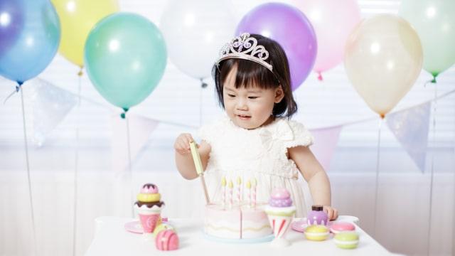 Pesta ulang tahun anak.