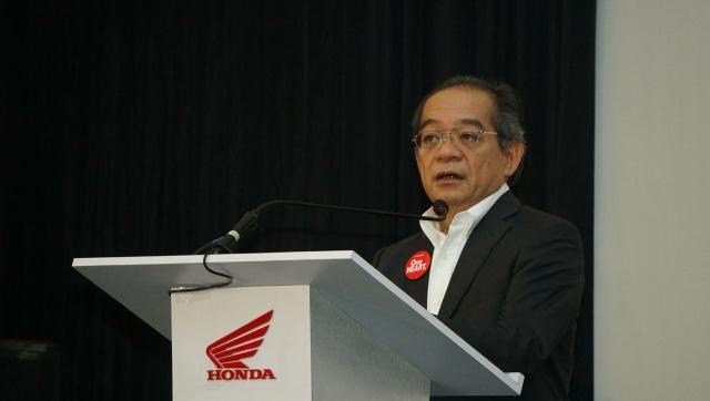 Presiden Direktur AHM, Toshiyuki Inuma