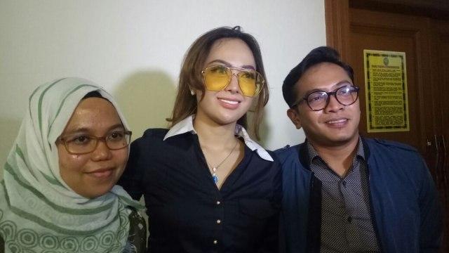 Cinta Ratu Nansya usai menjalani persidangan