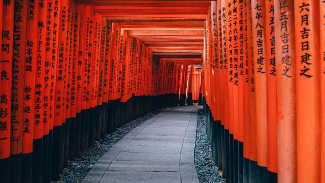 Kyoto, Jepang.