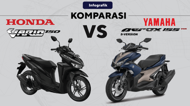 Komparasi Vario vs Aerox