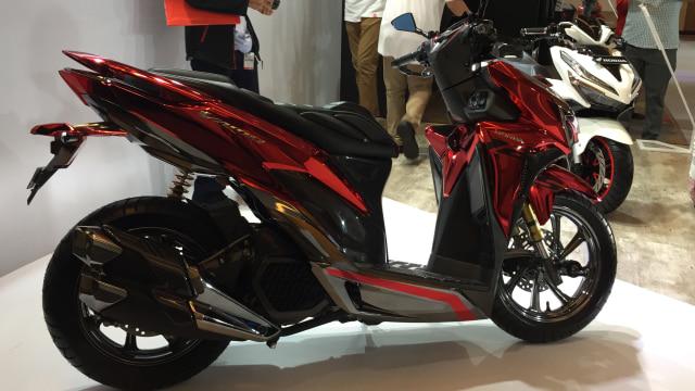 Modifikasi All New Honda Vario 150 Dengan Konsep Glamor