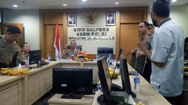 Irjen Arief Sulistyanto di TNCC Mabes Polri.