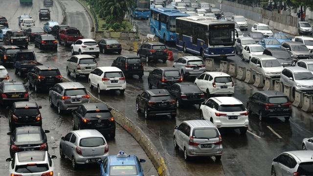 PSBB Ketat Jakarta, Ganjil Genap Belum Diberlakukan (1306)