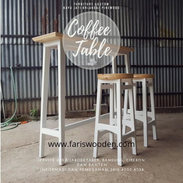 Pembuatan Meja Cafe Kayu Jati Belanda Berkualitas Kumparan Com