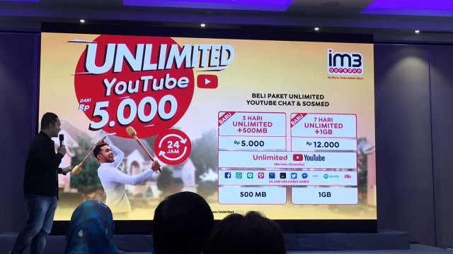 Indosat Buka Paket Internet Unlimited Tambahan Mulai Rp