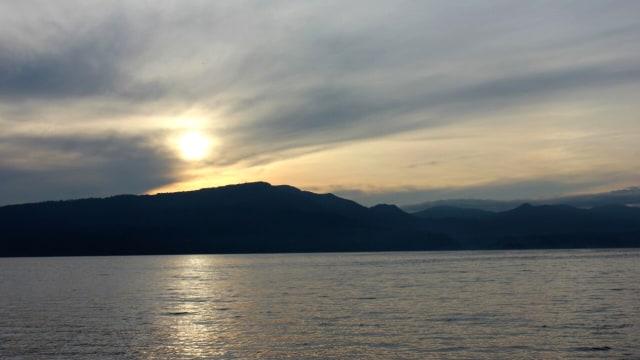 Pemandangan Danau Toba.