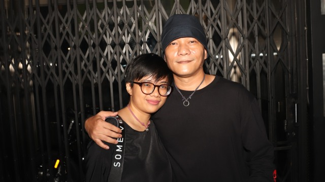 Iwa K dan Istri