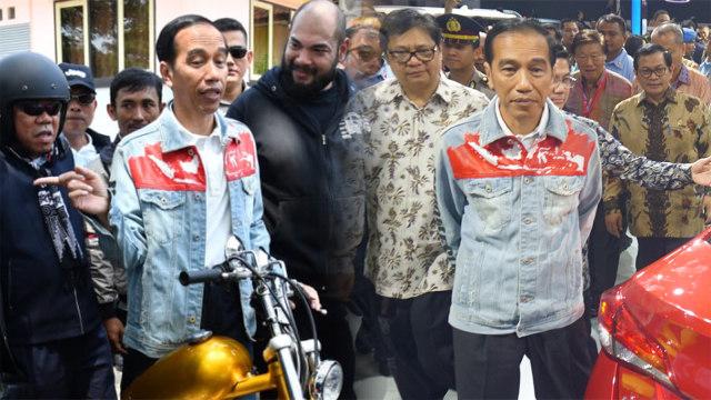 Mengintip 4 Gaya Jokowi saat Pakai Jaket Kekinian  (489271)