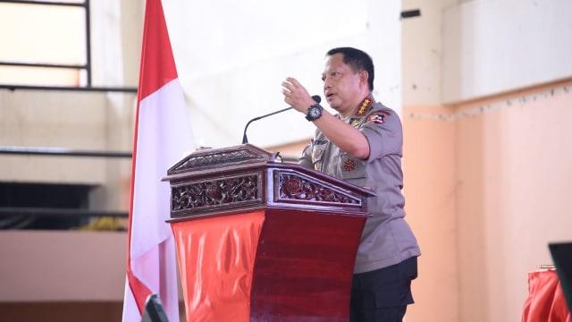 Kunjungan kerja Panglima TNI dan Kapolri di Aceh.