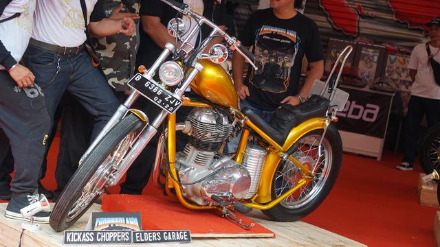 Harta Jokowi Naik tapi Motor Chopper Emas Tak Ada di Daftar, Dijual? (70131)
