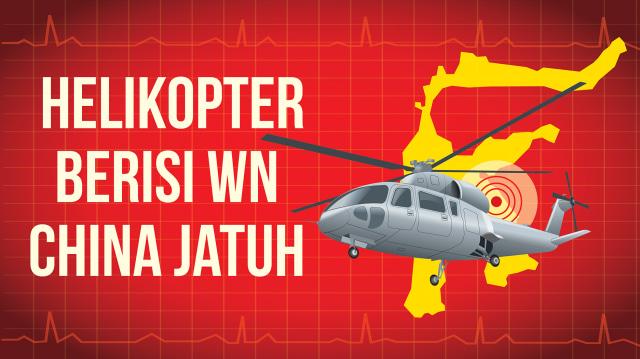 Infografik: Jatuhnya Helikopter Berisi WN China di Morowali (273969)