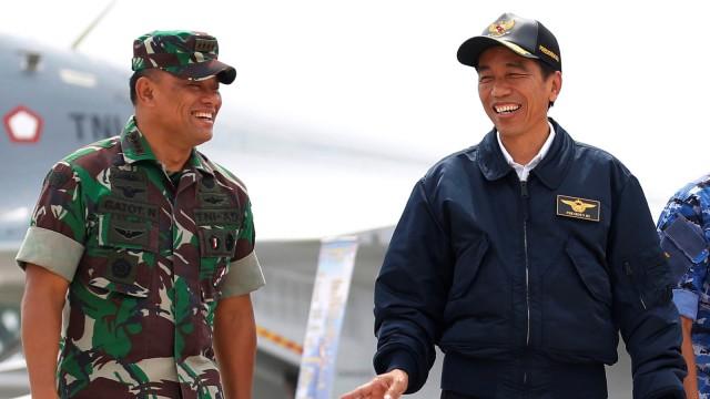 Lipsus - Presiden Jokowi dan Gatot Nurmantyo