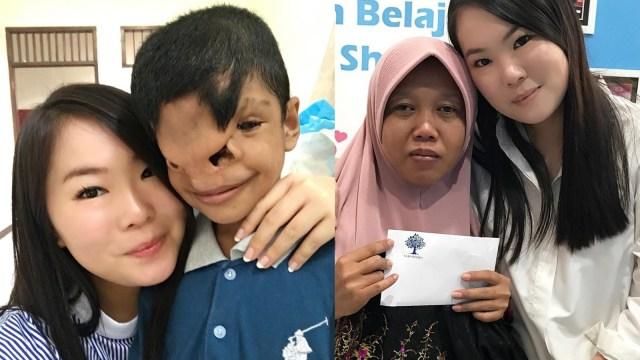 Sabrina Bensawan: Tak Perlu Tunggu Dewasa untuk Bantu Sesama  (307104)