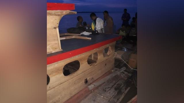 Kapal ditumpangi kapolres Labuhanbatu karam
