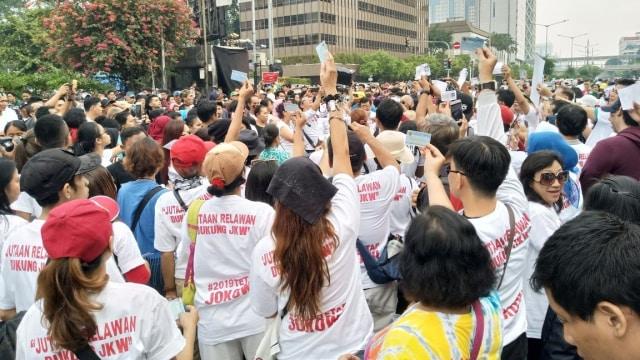 Gerakan beri KTP untuk Jokowi