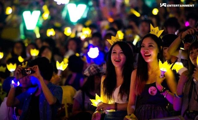 Ilustrasi Fans K-Pop
