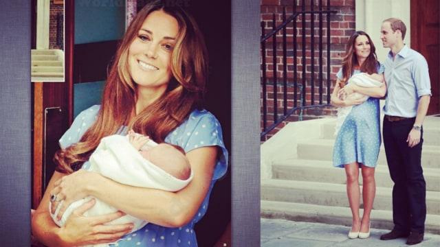Kate Middleton melahirkan George