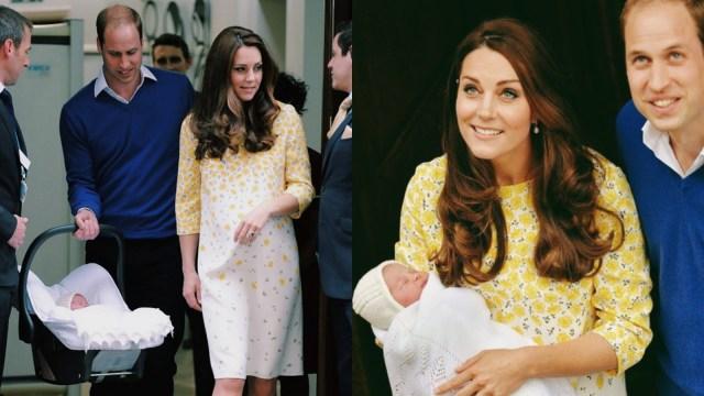 Kate Middleton pasca melahirkan Charlotte