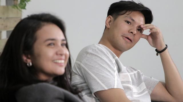 Michelle Ziudith bersama Fero Walandouw