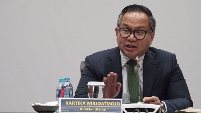 Kartika Wirjoatmojo, Direktur Utama Bank Mandiri