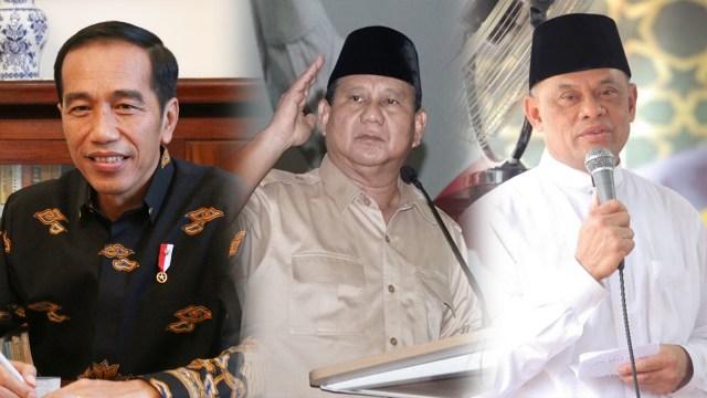 Indo Barometer: Jokowi 48,7%, Prabowo 20,5%, Gatot 5,4% (853347)