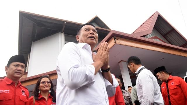 TB Hasanuddin-Anton C galang dukungan.