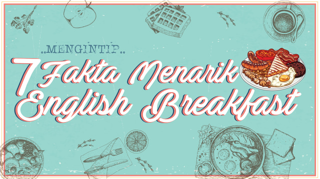 Infografik English breakfast