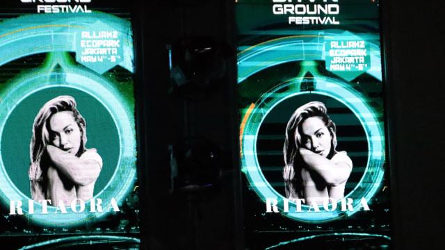 Tampil di SHVR Ground 2018, Rita Ora Tak Banyak Permintaan (2863)