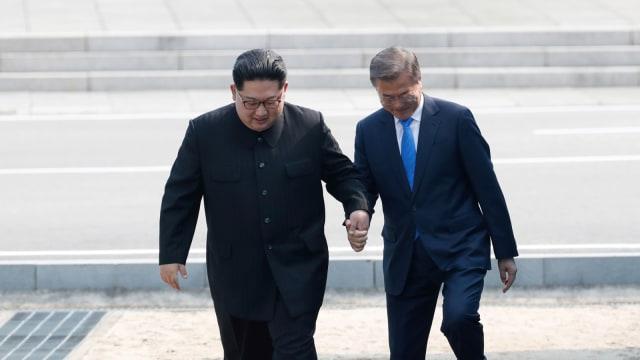4 Poin Penting Hasil Pertemuan Kim Jong-un dan Presiden Moon Jae-in (276093)