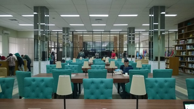 Adam Kurniawan Library  Menjadi Salah Satu Tempat Favorit Mahasiswa President University  (66115)