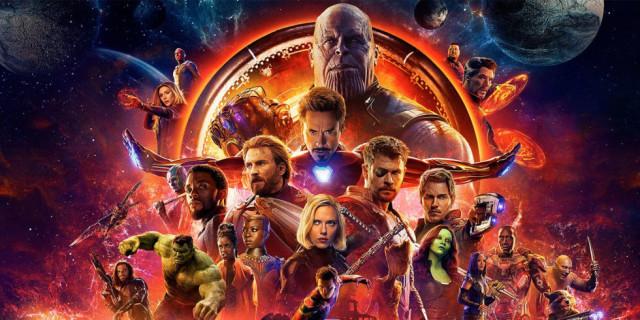 Avengers Infinity War - COVER