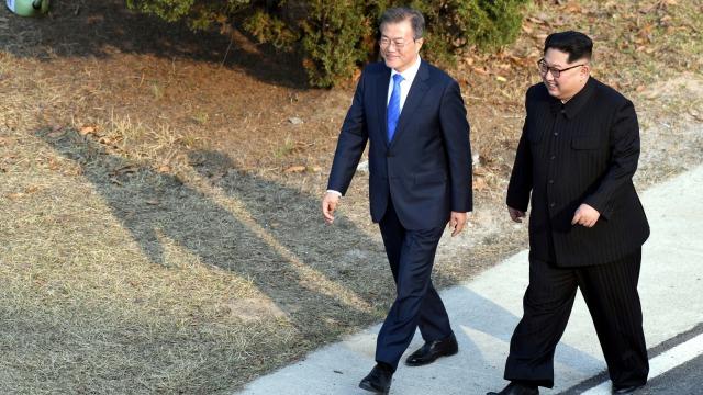 4 Poin Penting Hasil Pertemuan Kim Jong-un dan Presiden Moon Jae-in (276092)