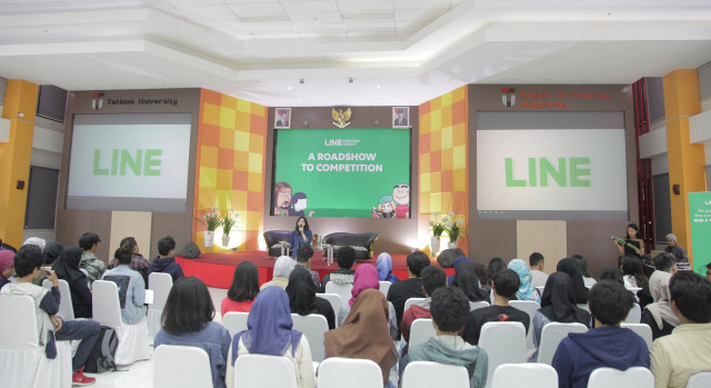 LINE Creators Roadshow di Bandung